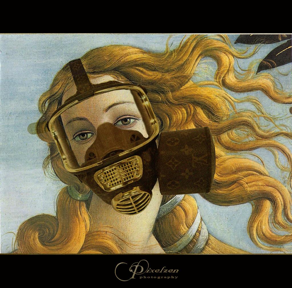 La venere del Botticelli nasce dal maree il mare non e  Flickr