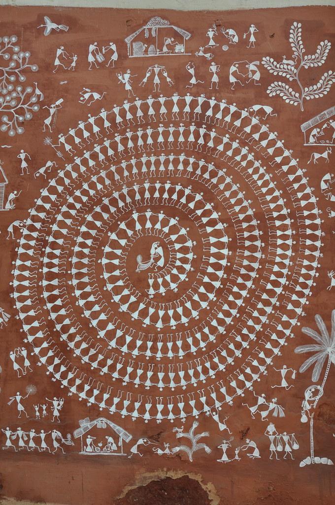 Mandana Wall Painting  Rajasthan  Grace Willan  Flickr