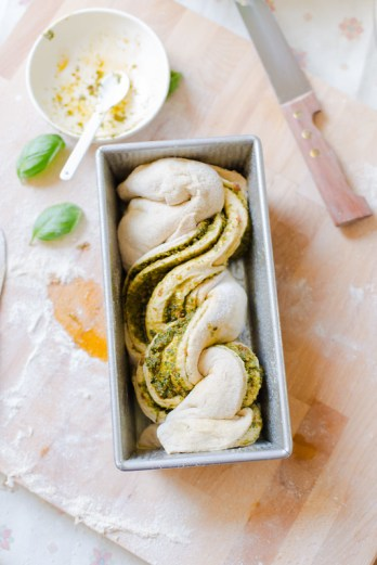 Pesto Swirl Loaf