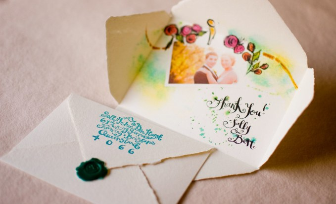 Image result for A Modern Vintage Australian Wedding-Thank You Cards flickr