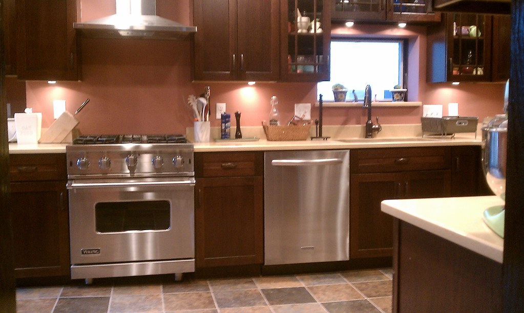 New Kitchen Color  Benjamin Moore Texas Rose  SO much be  Sivyaleah Elora  Flickr