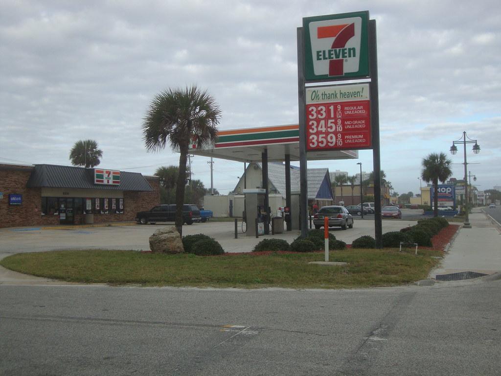 7 Eleven Gas Station