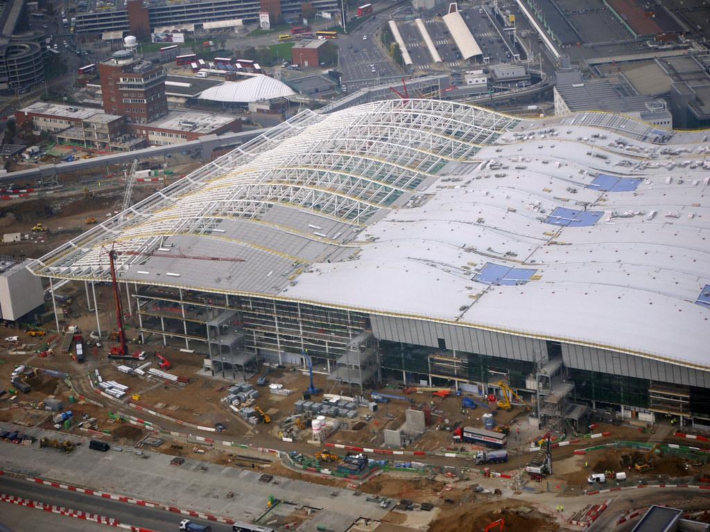 London Heathrow Airport England  UK  New Terminal 2 build  Flickr