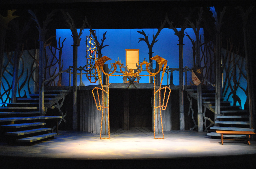 Beauty and the Beast  Magic Mirror  Set Designer Doug Rob  Flickr