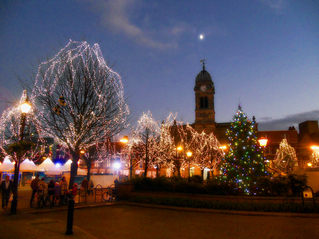 Derby Christmas Lights Derby Guild Hall Amid This Years