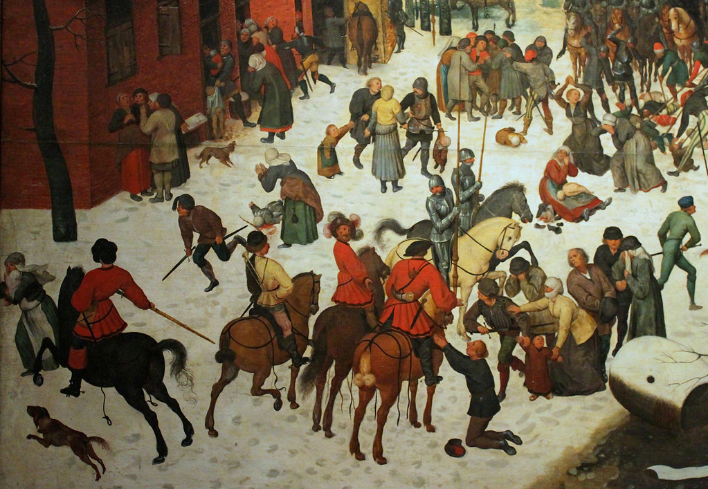 Bruegel the Elder Massacre of the Innocents detail 1