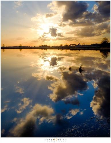 Zonsondergang bij het Starven. Single exposure shot in RAW, bewerkt in Lightroon (ISO200 - f/11 - 1/600, velvia film simulation)