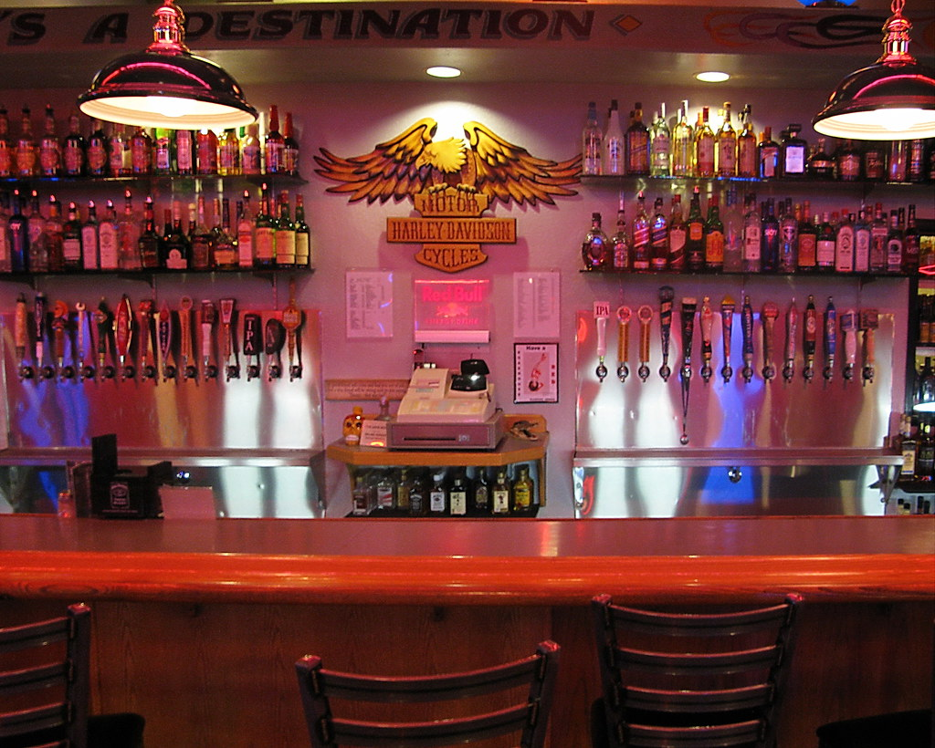 The Route 66 Road House Bar  Grill  draft beer on tap