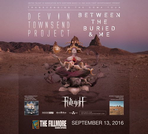 The Devin Townsend Project at the Fillmore Silver Spring