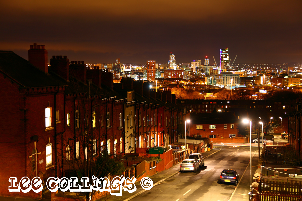 3d Wallpaper Artistic Leeds At Night Lee Collings Flickr