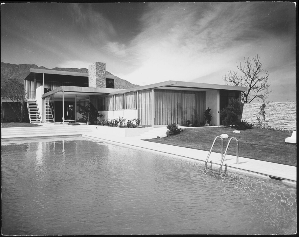 Richard Neutra Kaufmann House Palm Springs Julius Shul