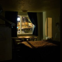 Motel Room at Night