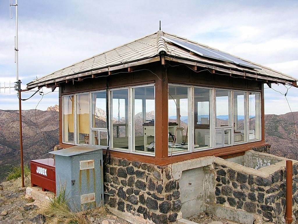Sugarloaf Mountain Fire Lookout Cabin  Chiricahua Nationa