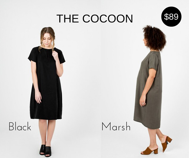 Kickstarter Cocoon Dress- about-