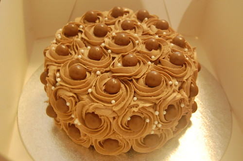 Yummy Chocolate Buttercream Malteser Cake Beautiful