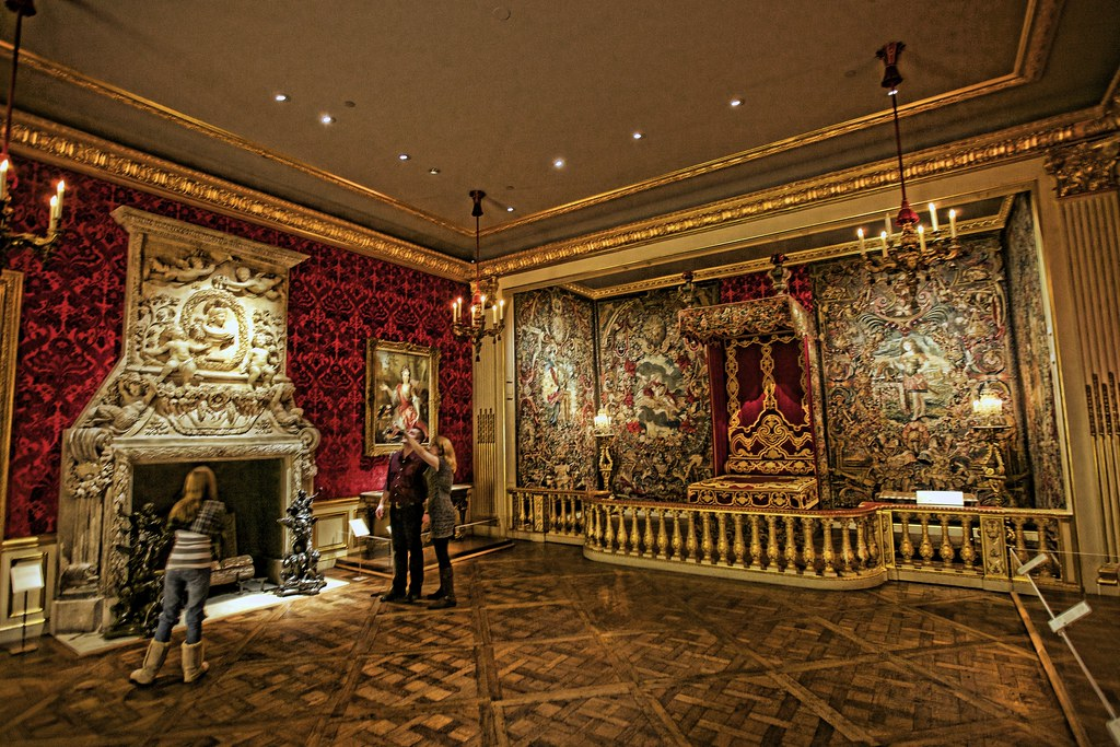State Bedroom in the Style of Louis XIV  This gallery is f  Flickr