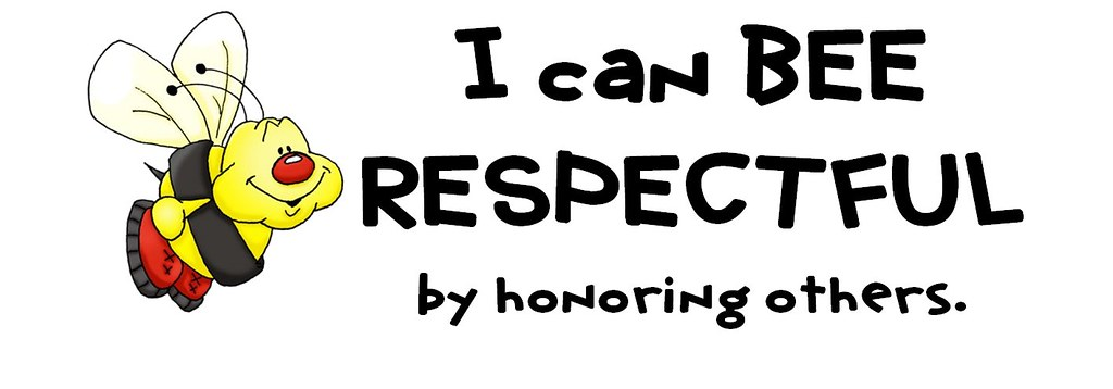I Can BEE Respectful US Spelling Part Of The I Can