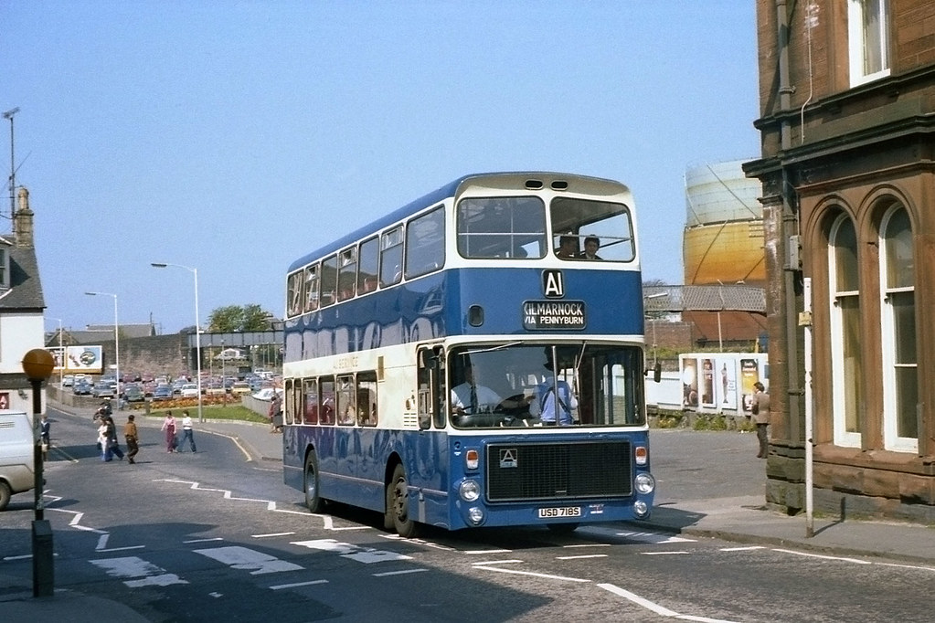A1 Scotland Again At The Time I Recorded This Bus As