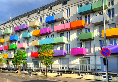 Colorful Balconies  Flickr  Photo Sharing