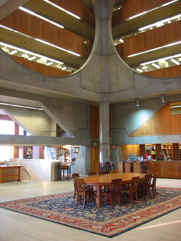 Louis Kahn S Library At Phillips Exeter Academy Exeter N
