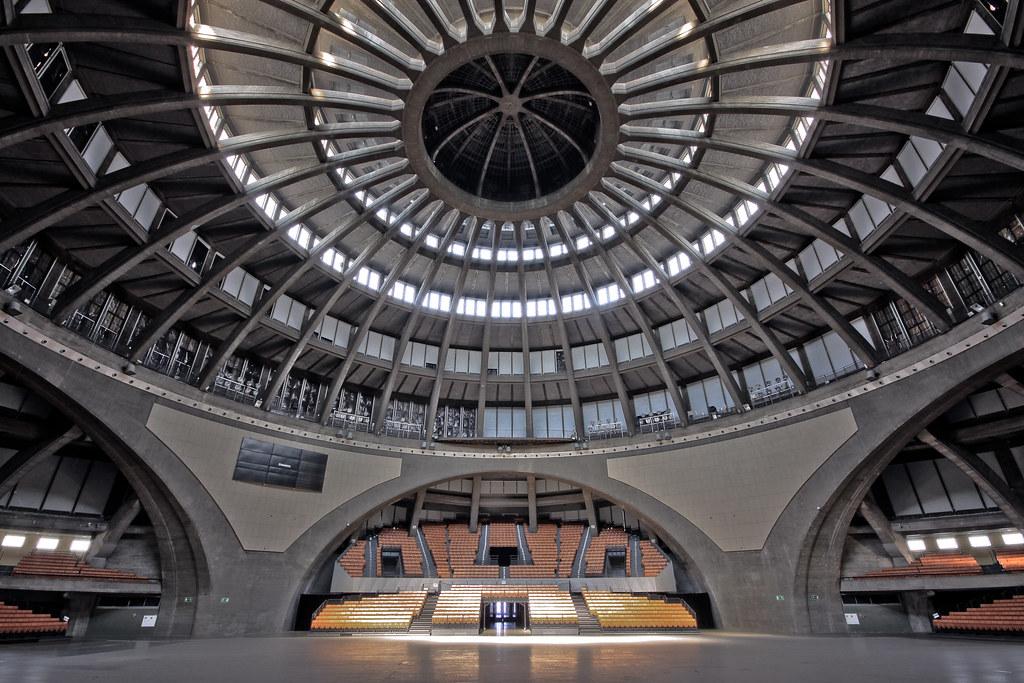 Wrocław Hala Stulecia Centennial Hall In Wrocław Flickr