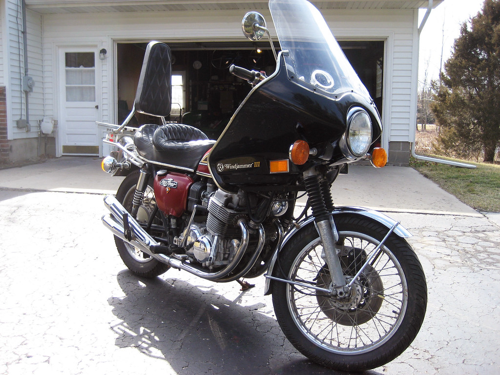 1976 Honda CB 750 motorcycle 026a  The fairing does have so  Flickr