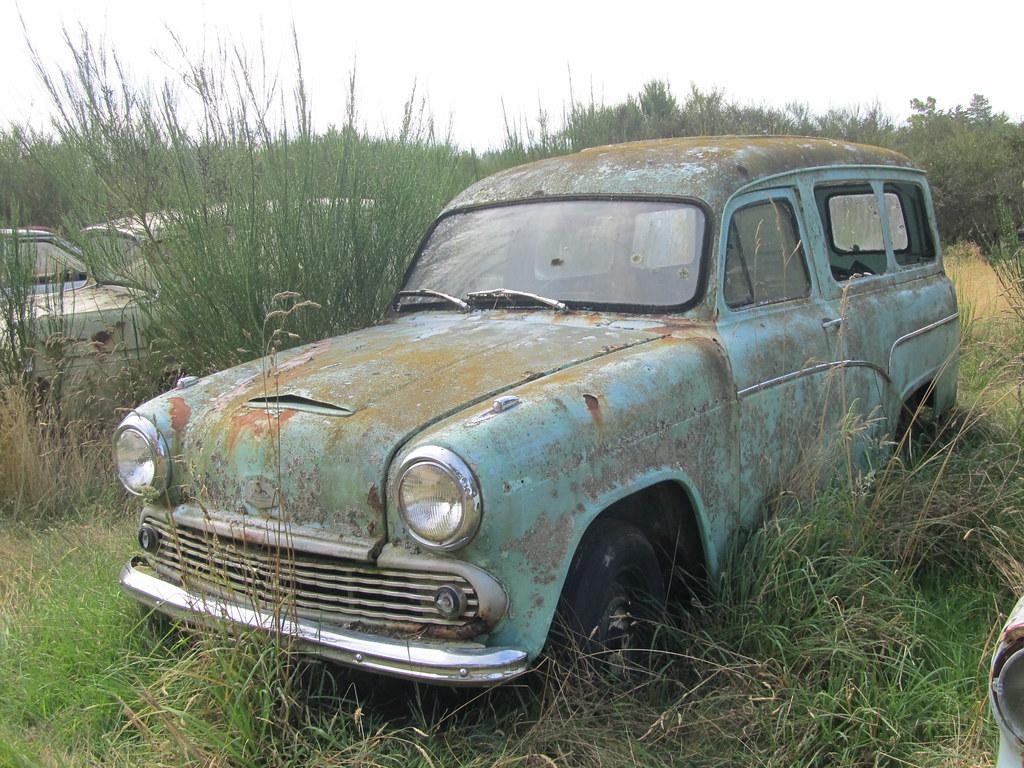 Austin A55 Van  Youve got to wonder how long this has