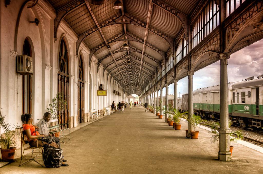 Maputo Railway Station Mozambique Maputo Railway