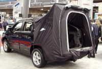 Pontiac Aztek with tent option