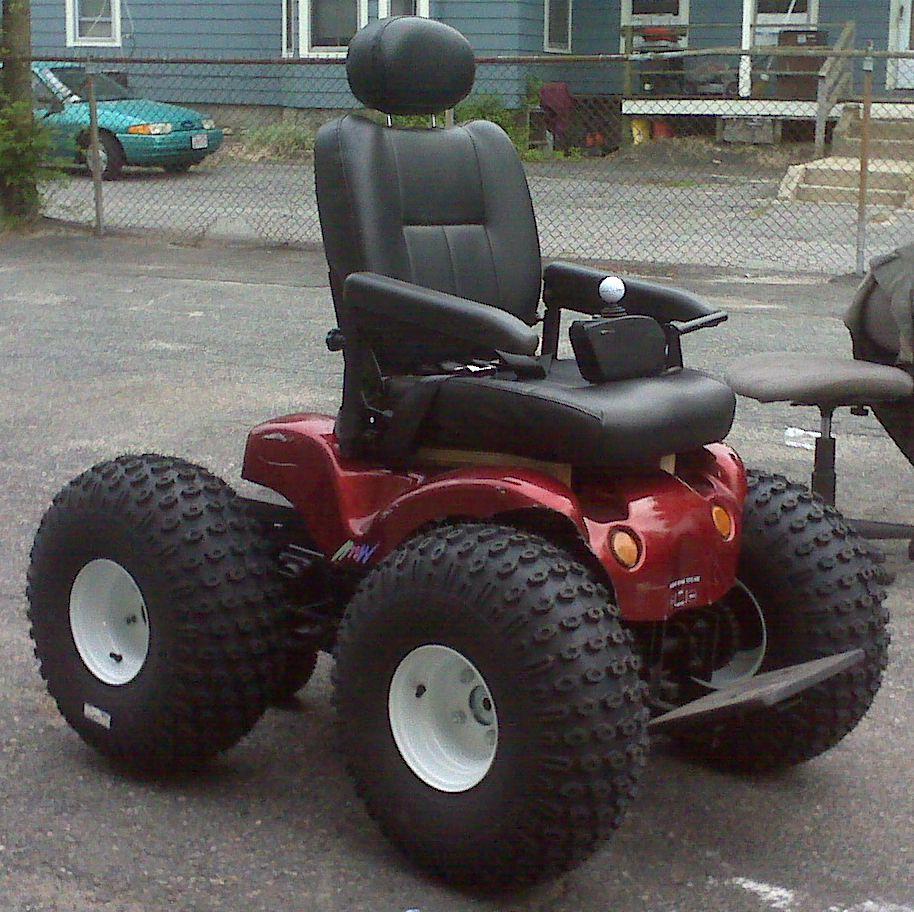 power chair car carrier bedroom duck egg all terrain wheelchair | david heim flickr