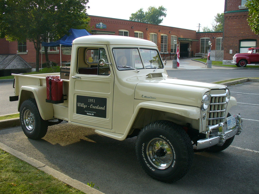 willys overland truck