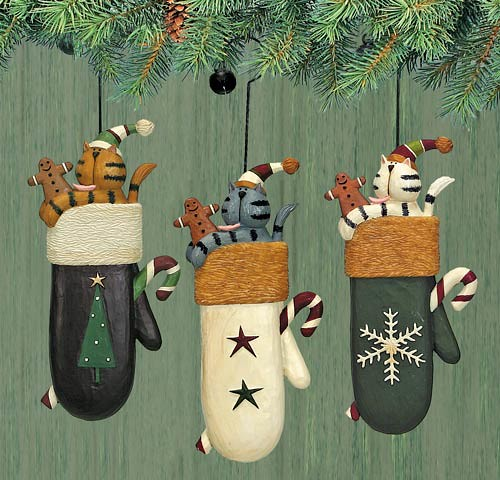 Folk Art Christmas Ornaments