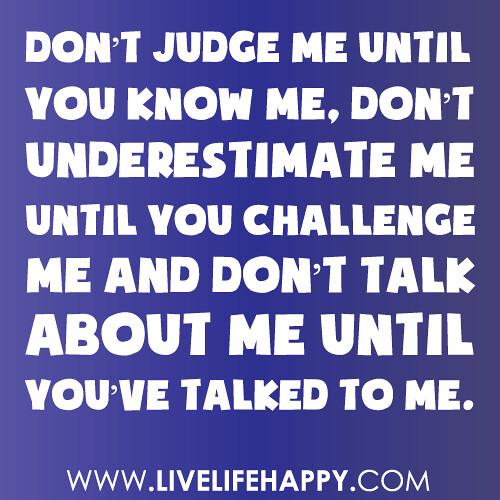 And T Judge Judge I Me Won You Dont Praying