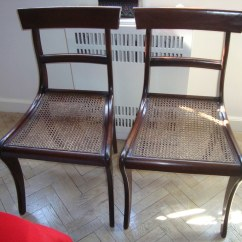 Cane Bottom Chairs Best Inc Antique 2 Us 150 The Pair
