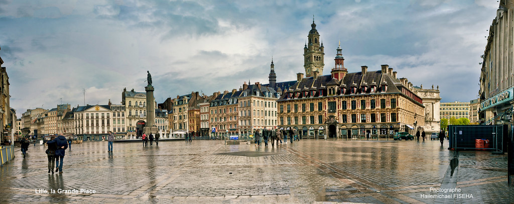 Hexagon Wallpaper 3d La Grande Place De Lille Hail 233 F Flickr