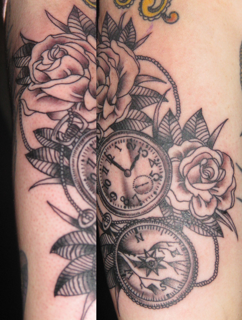 Image Result For Comppocket Watch Tattoo