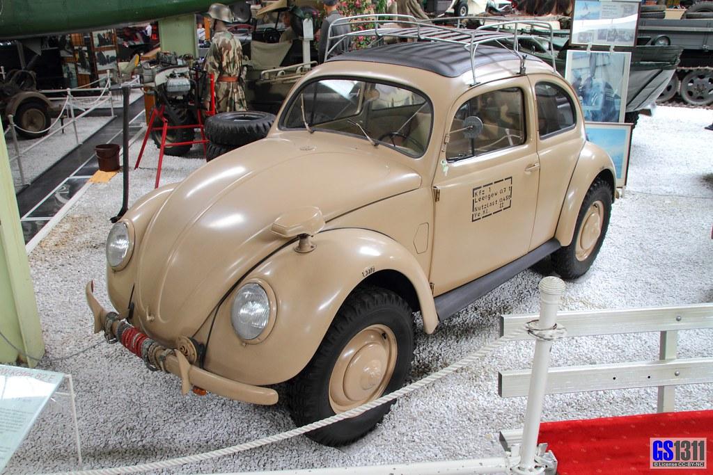 1945 Volkswagen Beetle During Ww2