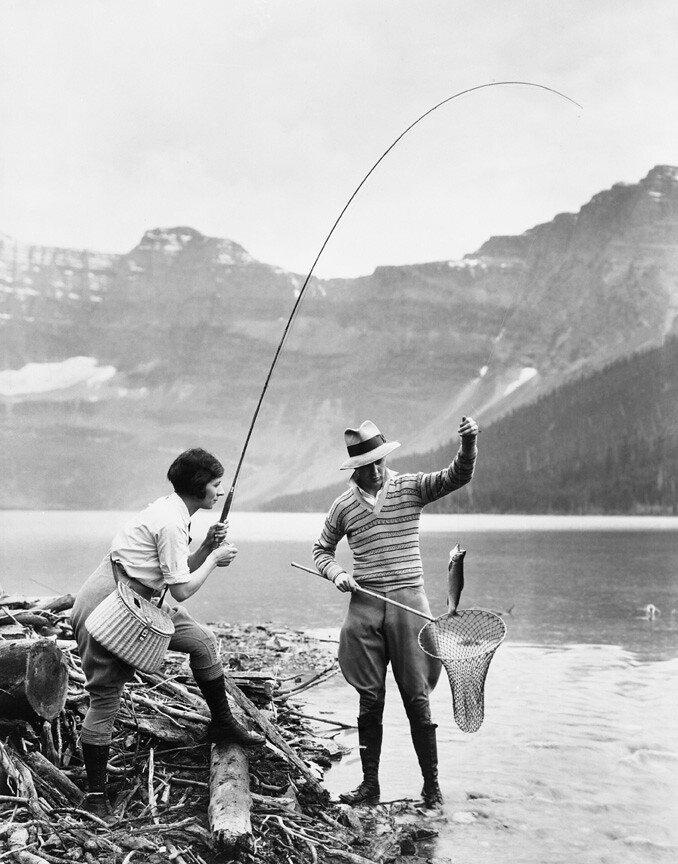 Fishing In The Rockies Image No NA 4868 139 Title