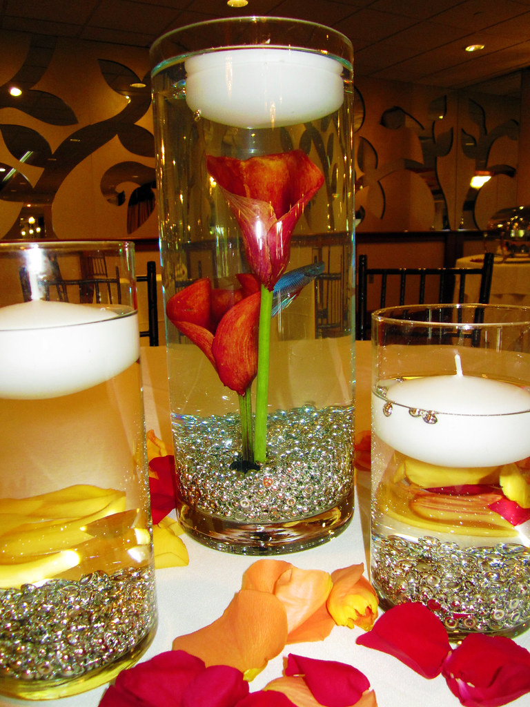 Calla Lily and Beta Centerpieces  Lisa Greene AAF AIFD