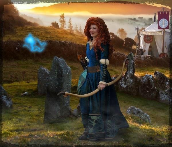 Disney World Brave Princess Merida