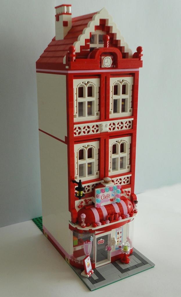 Moc Lego Friends Cafe 010  Jorge Barros  Flickr