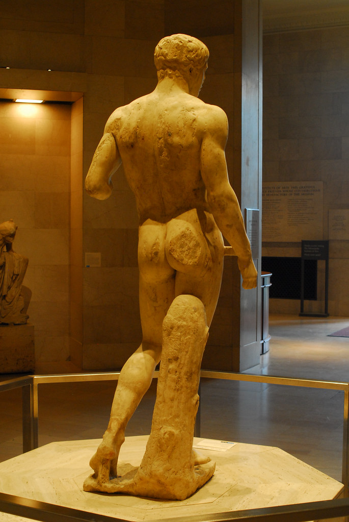 The Doryphoros by Polykleitos at the MIA  I took this