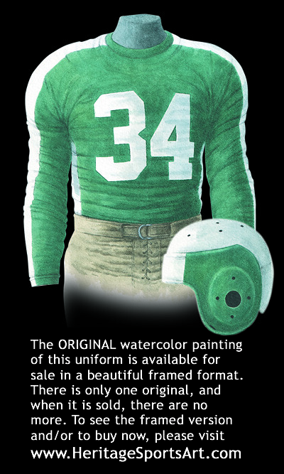 Phil Pitt Steagles 1943 Uniform Artwork This Is A Highly