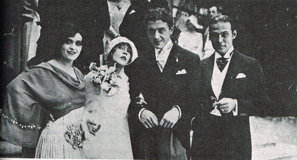 Pola Negri Maid of Honour Mae Murray Bride Prince Da