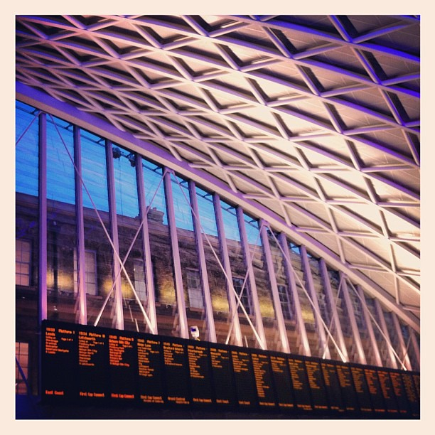 New Kings Cross Departure Lounge, Spectacular! George