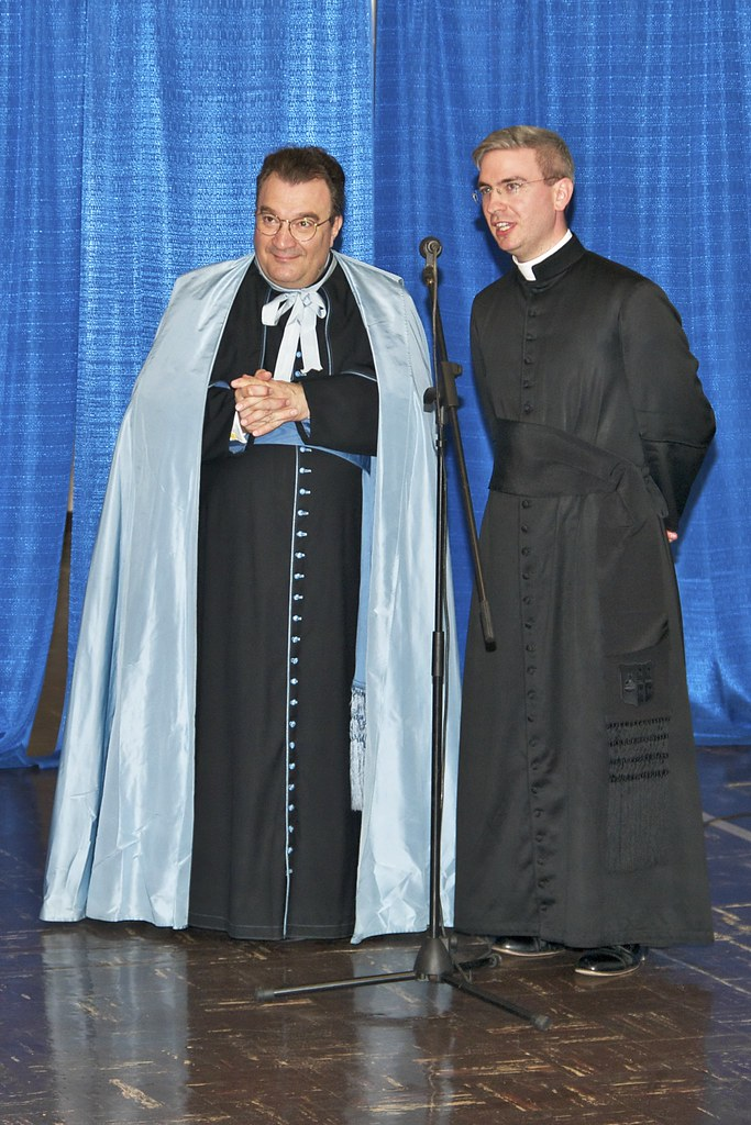 Msgr Wach  Msgr Gilles Wach and Canon Talarico at the rec  Flickr