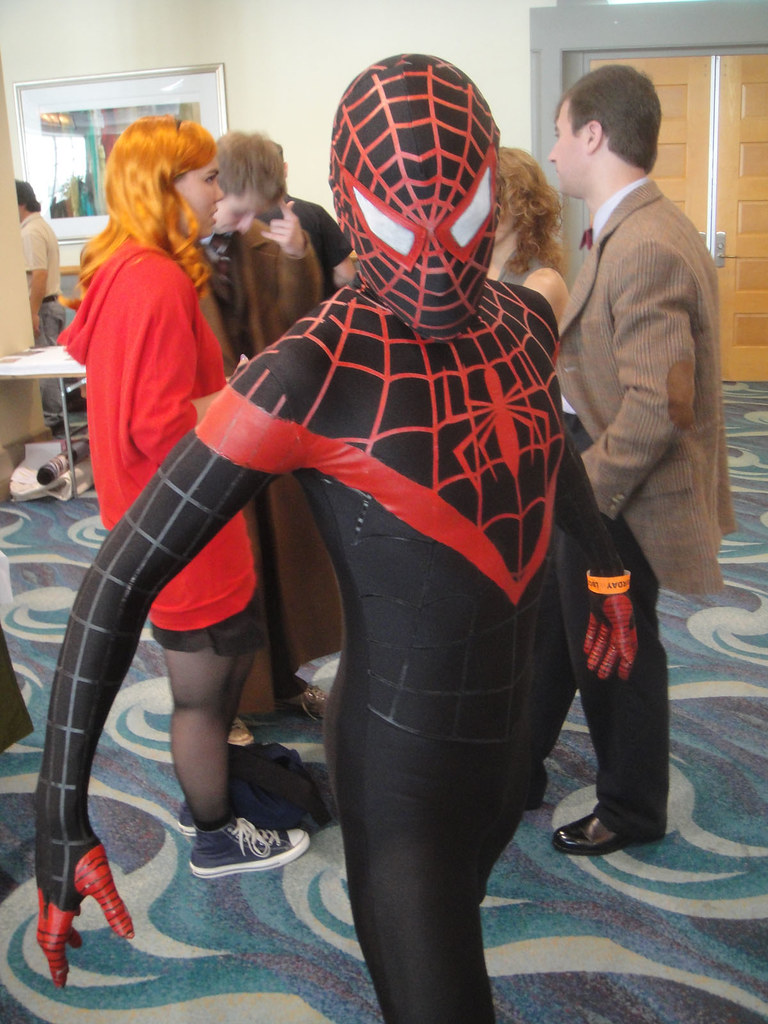 Long Beach Comic Expo 2012  Ultimate SpiderMan Miles Mo