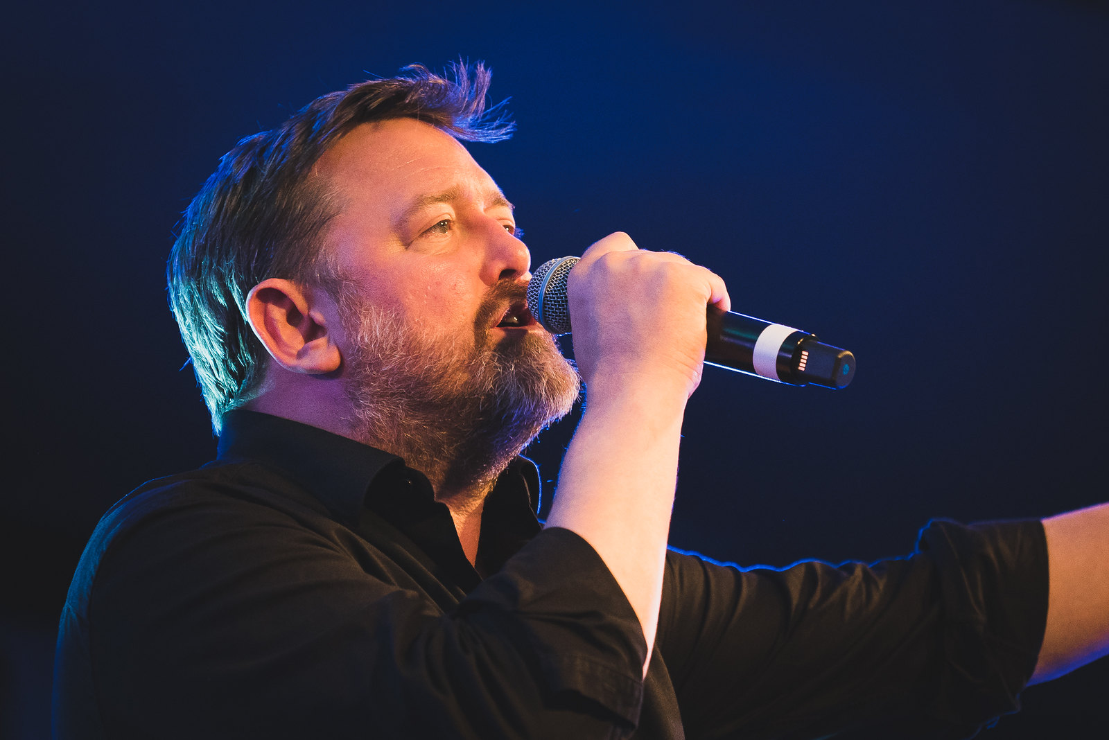 Guy Garvey introducing Rozi Plain