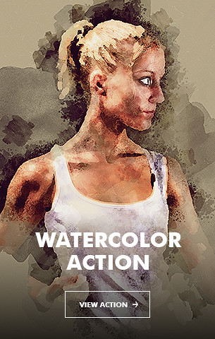 Watercolor V.3 Photoshop Action - 84