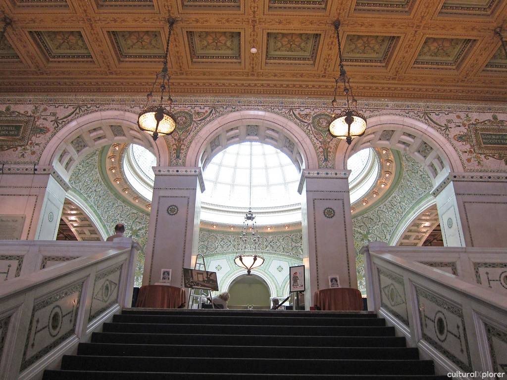Preston Bradley Hall at the Chicago Cultural Center